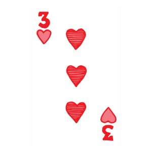 Custom Playing Cards Hearts 03