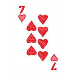 Custom Playing Cards Hearts 07
