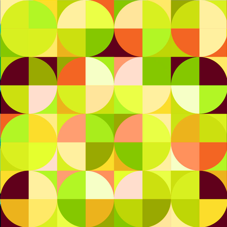Day 360: Drunkard's Path Pattern Variations