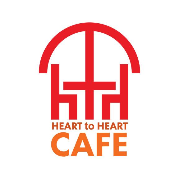Heart To Heart Cafe Logo Design