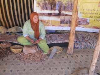 Women's argan oil cooperative in Morocco