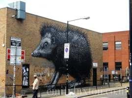 Roa Hedgehog - Chance Street