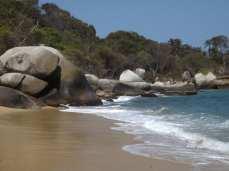 Beach, Parque Tayrona, Colombia