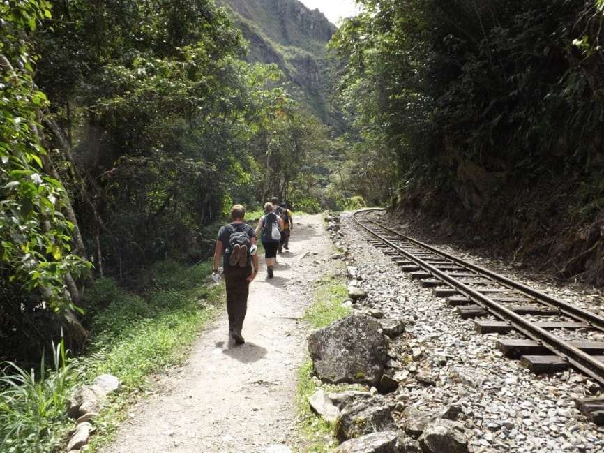 Hiking the Tracks to Machu Picchu
