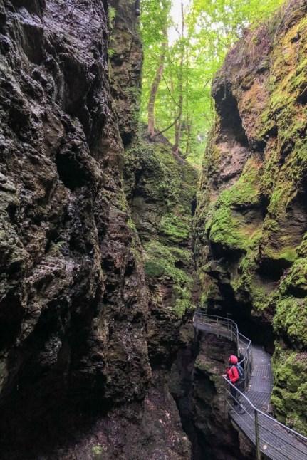 Sass River Canyon, Trentino Italy