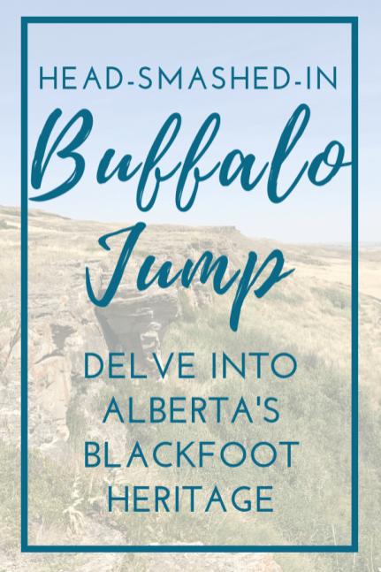 Head Smashed in Buffalo Jump Alberta Canada