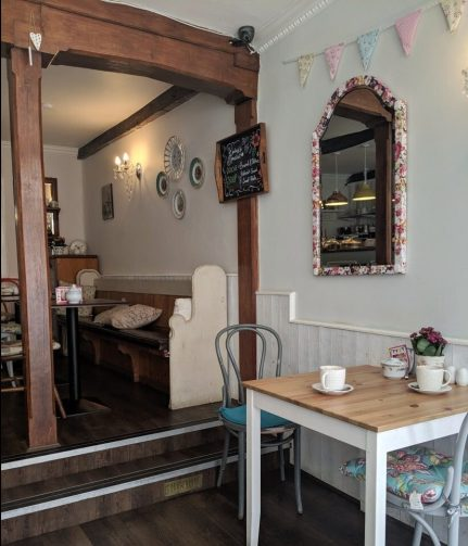 Frieda's Tearoom Winchester England
