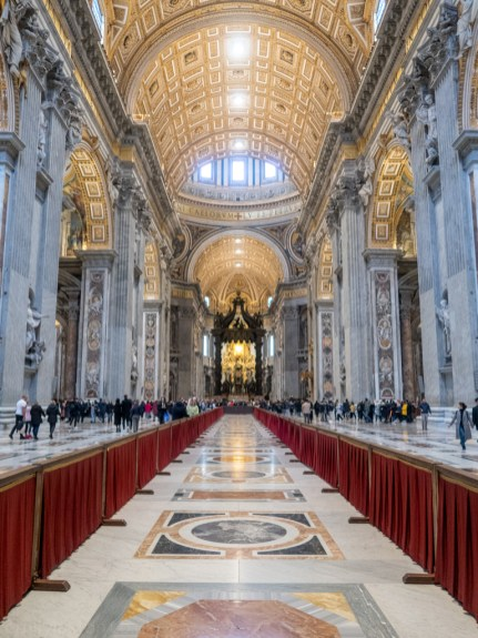 Vatican in January