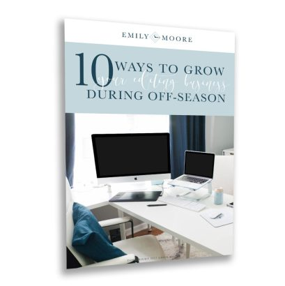 10 Ways to Grow Your Editing Business During Off-season (Free Download) | Emily Moore