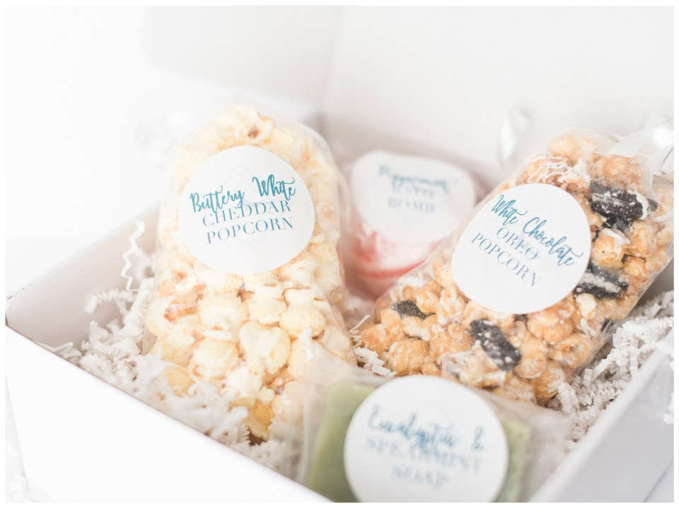 Gift Boxes from Love, Virginia | Emily Moore | Client Experience