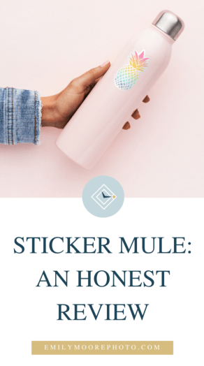 Sticker Mule: An Honest Review | Emily Moore | Private Photo Editor | Motherhood Stickers | A few months ago, selling Motherhood Stickers for women struggling with fertility issues was just a dream. Now, I'm packing up stickers weekly to send out to women from all over the country, and Sticker Mule helped make that happen! Find out what my thoughts are on Sticker Mule and their products!