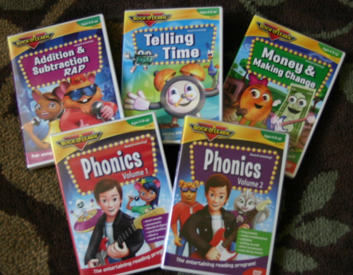 Rock 'N Learn 1st & 2nd Grade DVD Collection | Emily Reviews