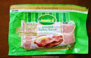 Back To School With Jennie-O Turkey Bacon Review, Recipe & US #Giveaway 9/18 | Emily Reviews