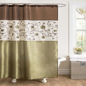 Lush Decor Prima Curtain Panel Pair 54 Inch By 84 Gray