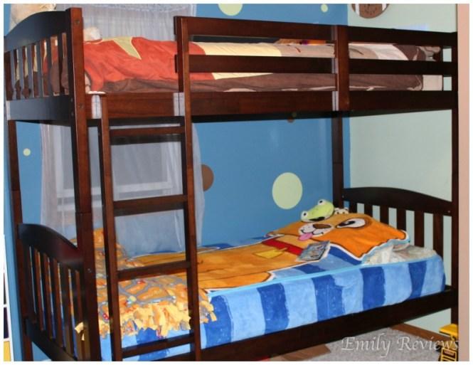 Lots Simmons Tristan Bunk Bed Zeopedia Memory Foam Mattress Review
