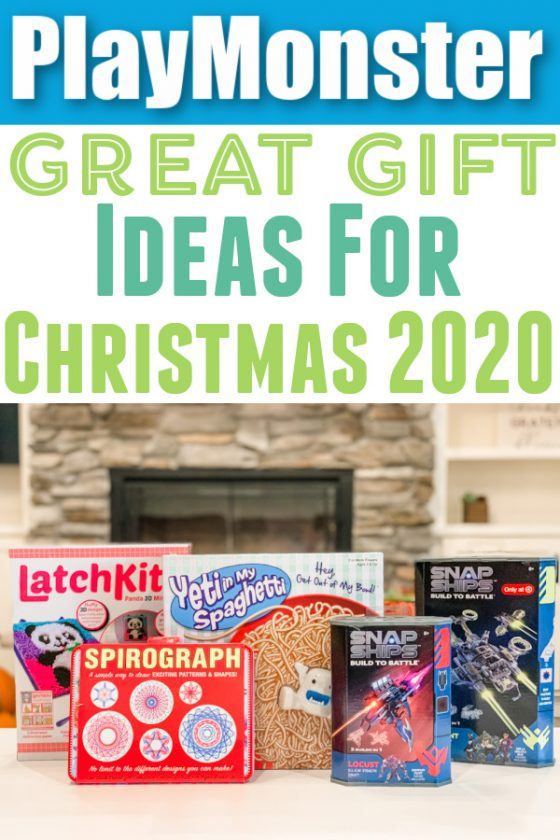 PlayMonster Toys For Christmas (Crafts, Games, Building, + More!)