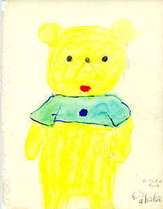 Winnie-the-Pooh drawing