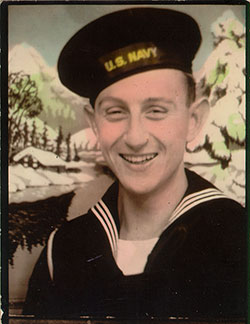 Edward Magdol, Navy uniform