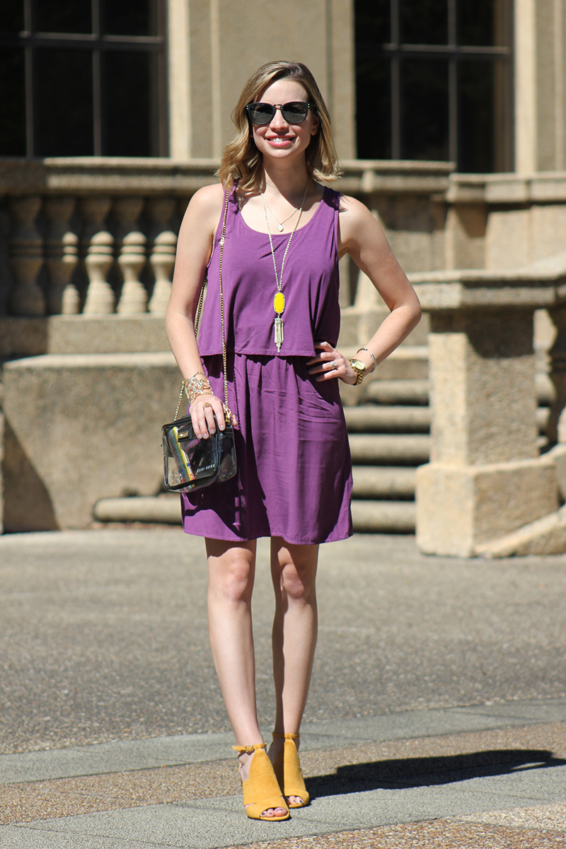 Gameday | Perfect Purple Dress - Emily Villere Dixon