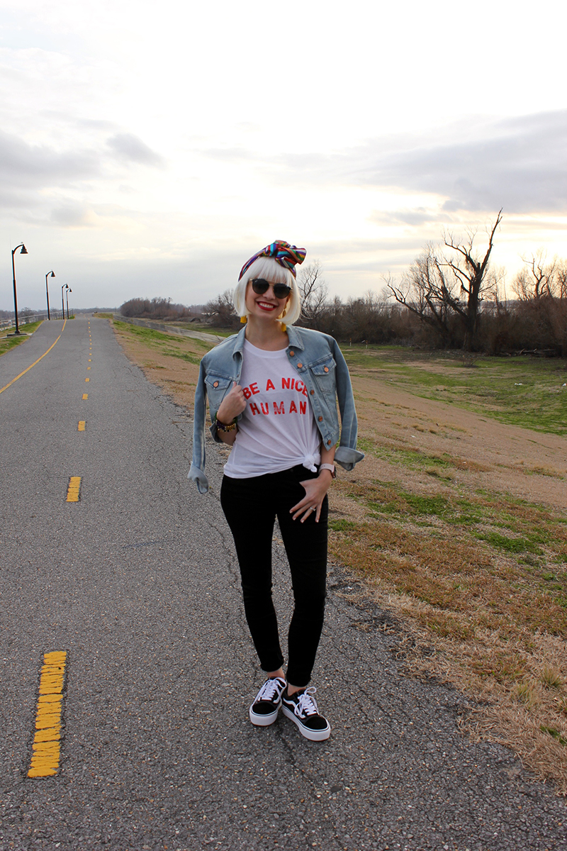 Mardi Gras Parade Outfit featured by top Louisiana life and style blogger, Emily Villere Dixon