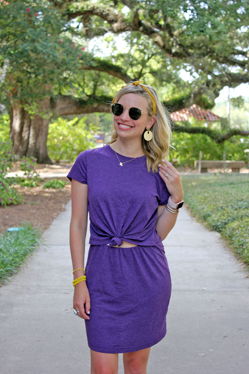 LSU Gameday Shopping Guide featured by top US LSU blogger, Emily Villere Dixon: Jane Hudson