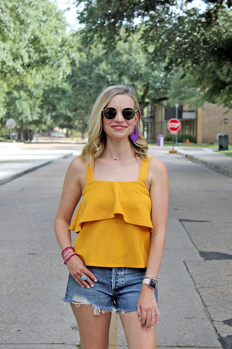 LSU Gameday Shopping Guide featured by top US LSU blogger, Emily Villere Dixon: Kendra Scott