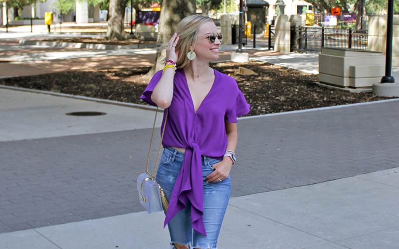 LSU Gameday with Kendra Scott