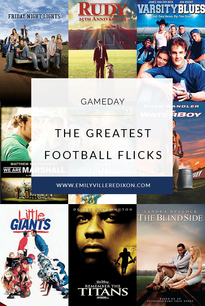 The Greatest Football Flicks