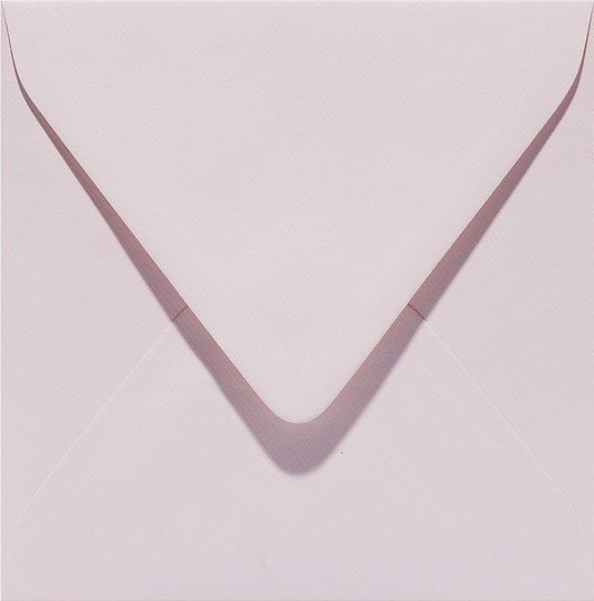 lichtroze baby roze bloesem envelop