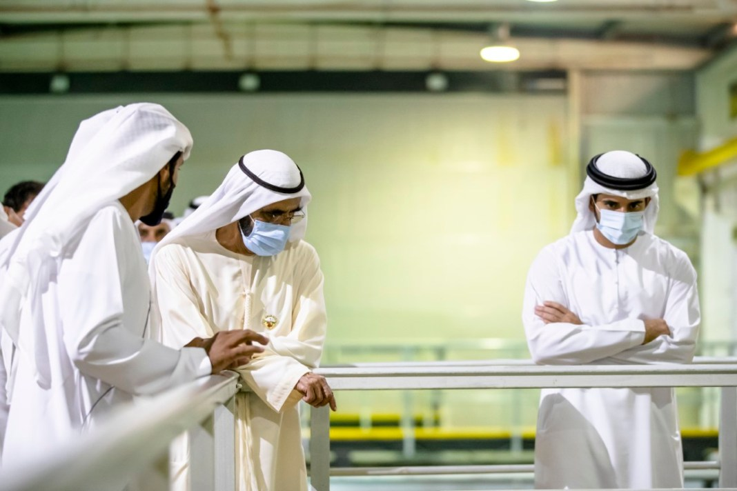 Expanding domestic food production to achieve self-sufficiency strategic objective: Mohammed bin Rashid visits Fish Farm in Dubai – News – Emirates