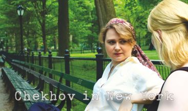 Chekhov in New York-Filming Trigorin-Ege Maltepe & Andrea Dorliac
