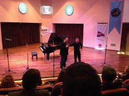 Emir with Hüseyin Sermet-Antalya Piano Festival