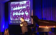 Orlando-Hanan Foundation-fundraiser concert-2-Talking about basketball
