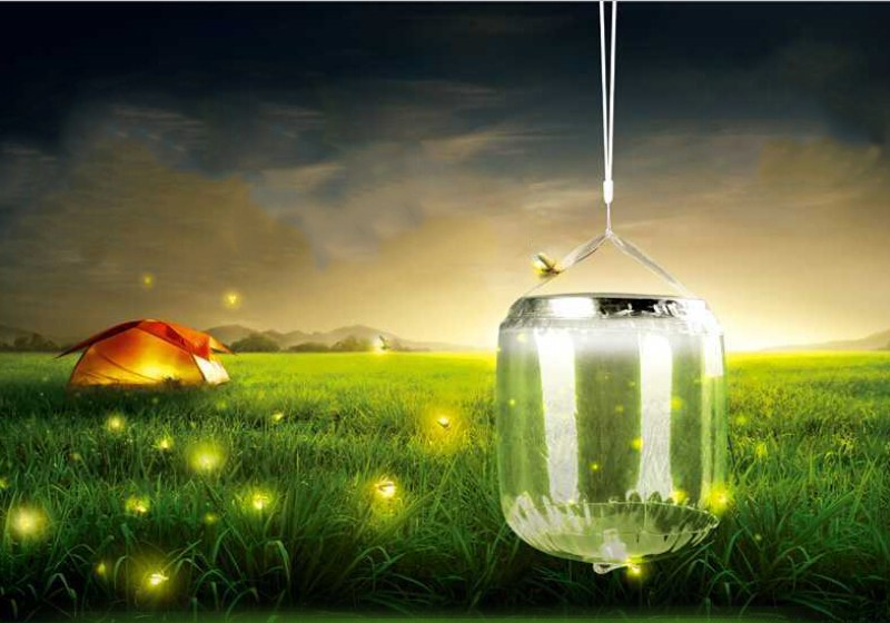 SOLAR INFLATABLE LAMP