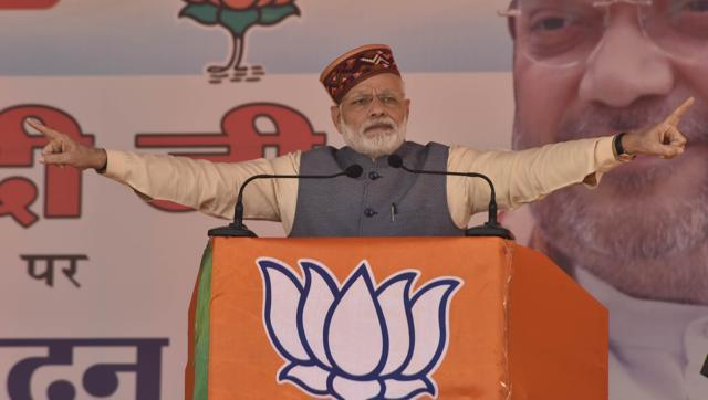 PM Narendra Modi speaks against Congress in Himachal Pradesh Elections rally at Kangra