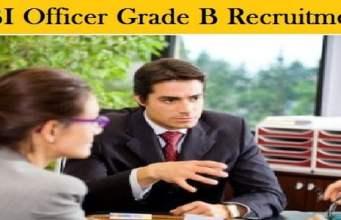 RBI Officer Grade B Recruitment