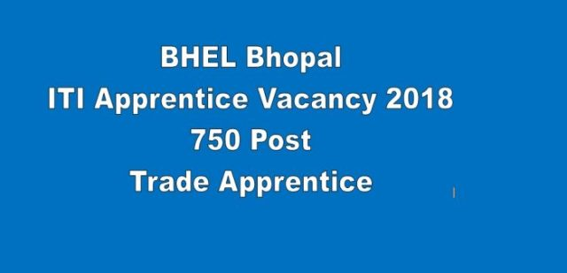 BHEL Bhopal ITI Apprentice Offer Letter 2018