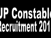 UP Constable Recruitment 2018