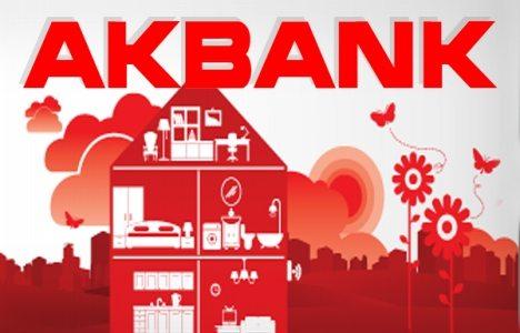 Akbank 120 ay vadeli konut kredisi faizini yüzde 0.97'ye düşürdü!