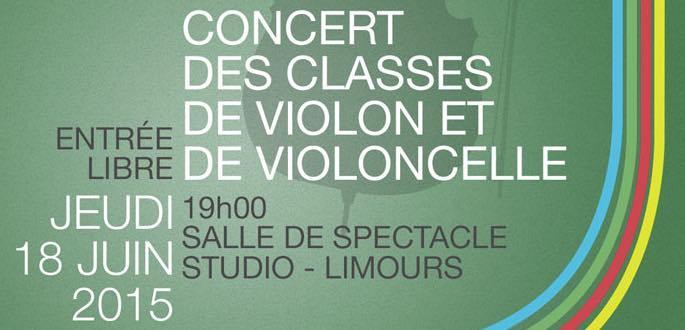 Concert Des Classes De Violon Et Violoncelle