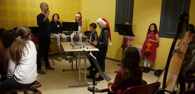 Retour Sur…  Atelier Biscuits Et Musiques De Noël