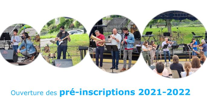 Preinscriptions 2021-2022