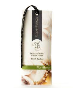 Saszetka zapachowa do szafy – Flor Blanca – Białe kwiaty – Black Edition
