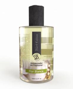 Perfumy do wnętrz – Flor Blanca – Białe kwiaty – Spray Black Edition