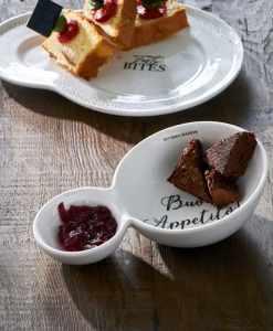 Love Buon Appetito Double Bowl