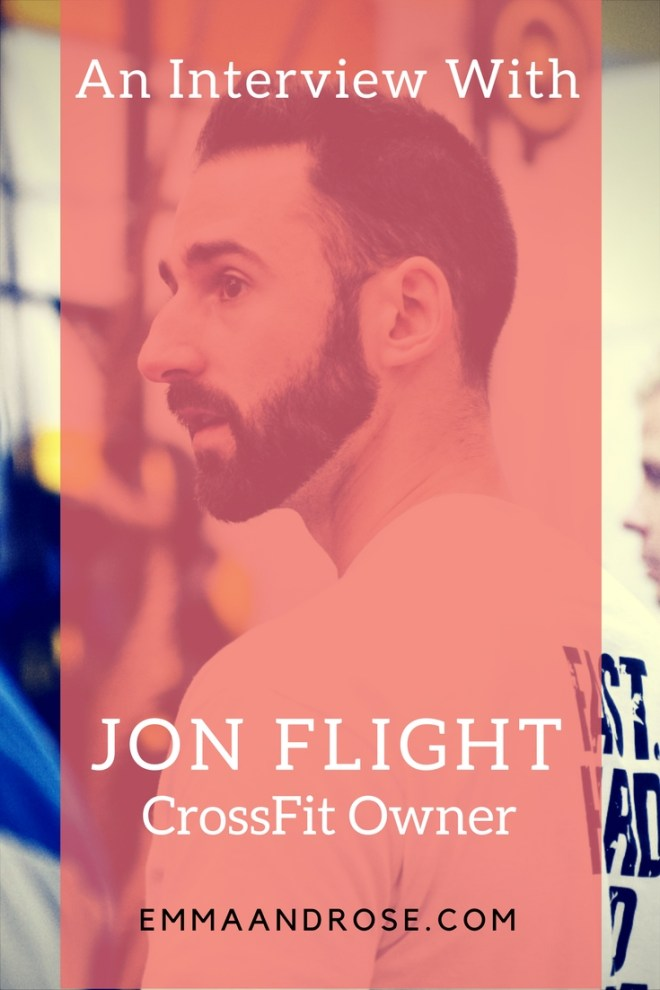 An Interview with Jon Flight CrossFit Owner