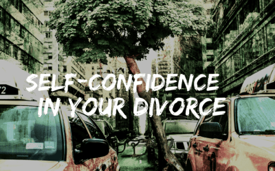 Self-confidence in your Divorce