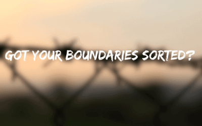 Creating Boundaries in your Divorce