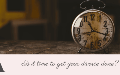 Is it time to get your divorce done?