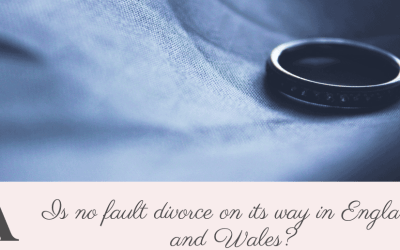 Is #nofaultdivorce on its way in England and Wales?